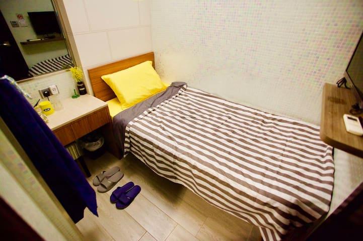 旺角中心精裝修整潔舒適單人房B1