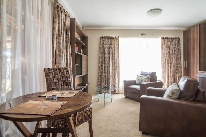 Sunny lounge area