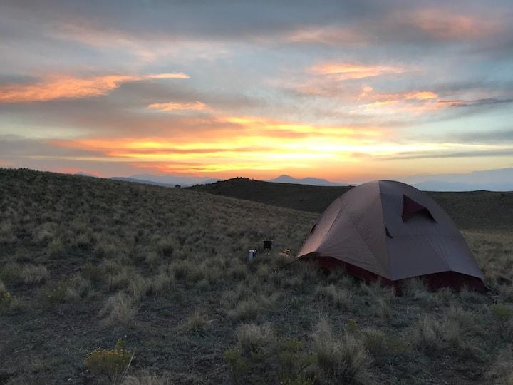 ★ Tent/RV Camping Near Hartsel, Mountain Views ★
