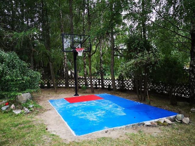 Modrzewiowy domek