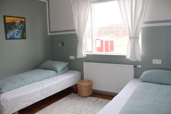Stóri-Bakki Guesthouse by Egilsstaðir double room