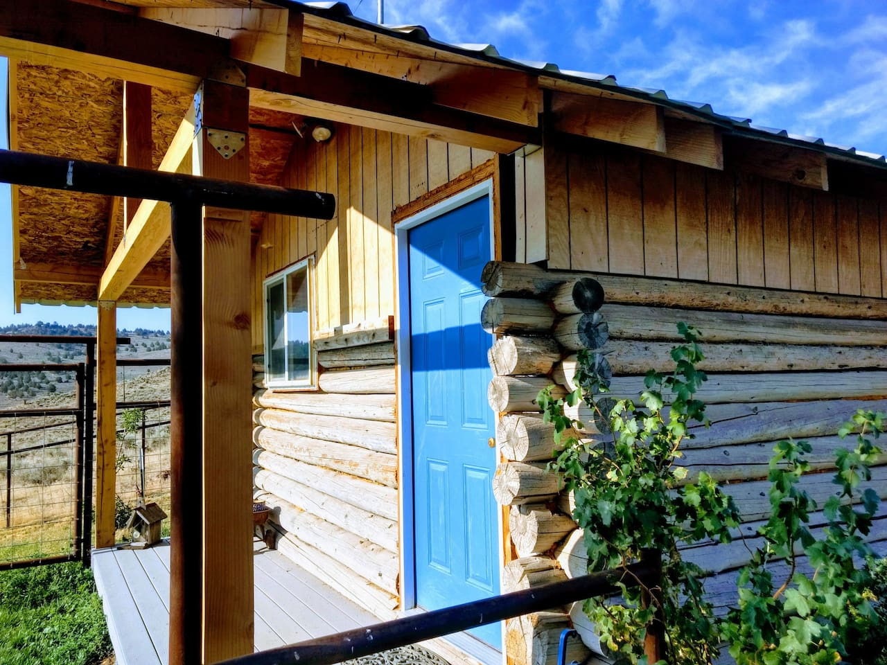 The Honeymoon Cabin.