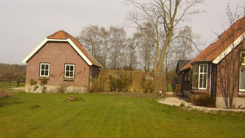 bakhuisje bij woonboerderij - Voorthuizen