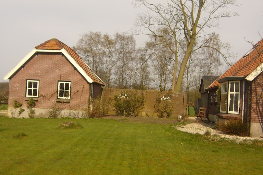 bakhuisje bij woonboerderij chalets te huur in