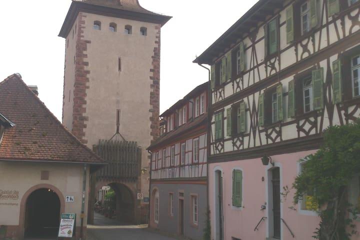 Altstadtmaisionettewohnung am Oberen Stadttor
