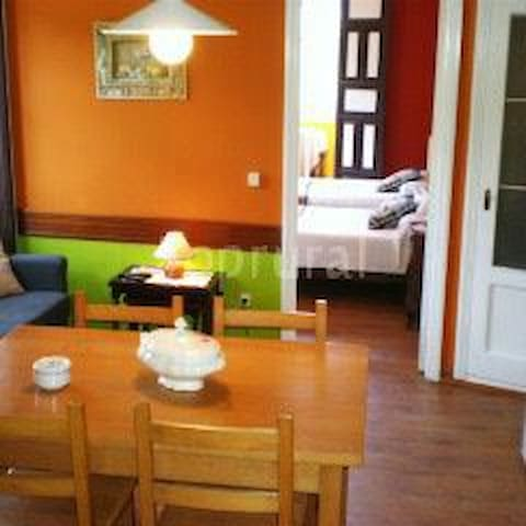 Apartamento rural con jardin amplio - carretera general  - Appartement