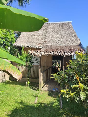 A little hut near the Iquitos airport