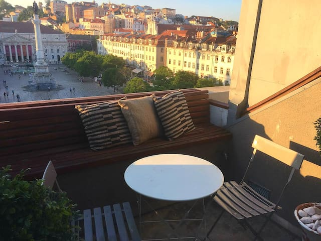 Amazing penthouse in Rossio