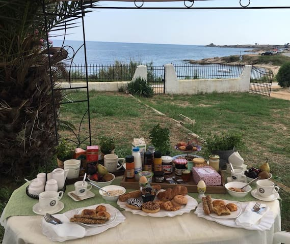 Saint Ioannis apartments on the beach(ground floor