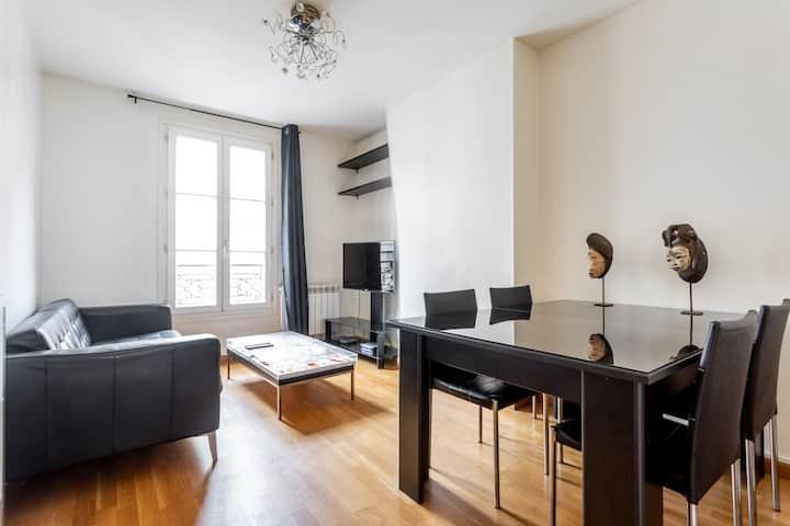 Appartement 2 pièces, 32m² | 5min Tour Eiffel ❤.