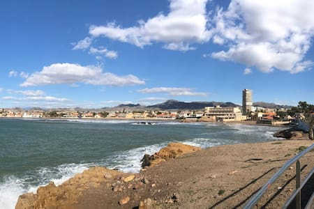 Rent our Spanish home, 4 minutes to beach/marina