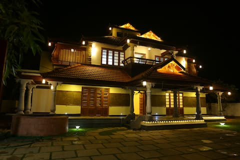 A luxury and budget Traditional villa home stay
