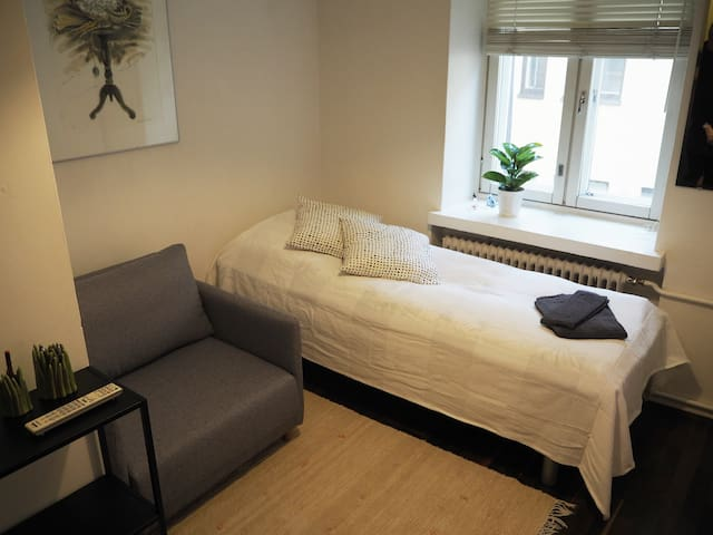 Private studio apartment in the heart of Helsinki