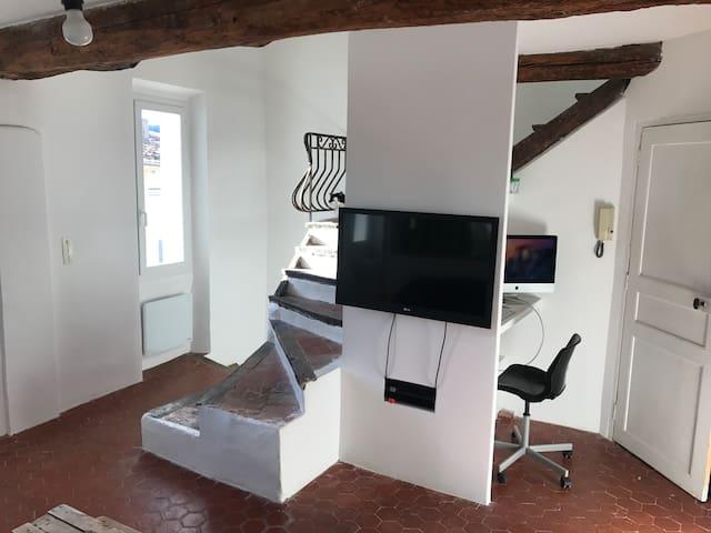 Maison de village à la Cadiere d'azur - La Cadière-d'Azur - Apartment