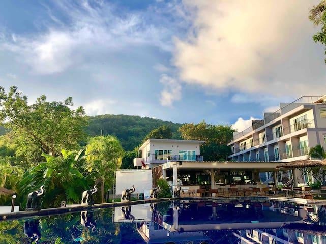 Pandora Resort, Swimming pool view,  (Studio room)