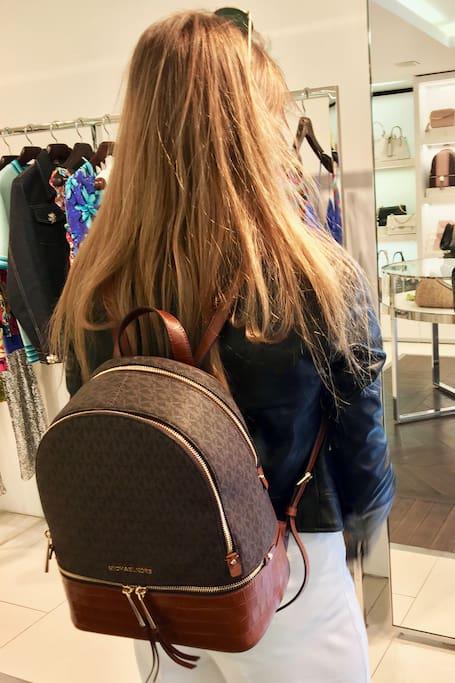 Shopping at Michael Kors