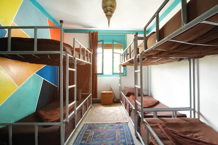 Roof House Taghazout room with 3 beds