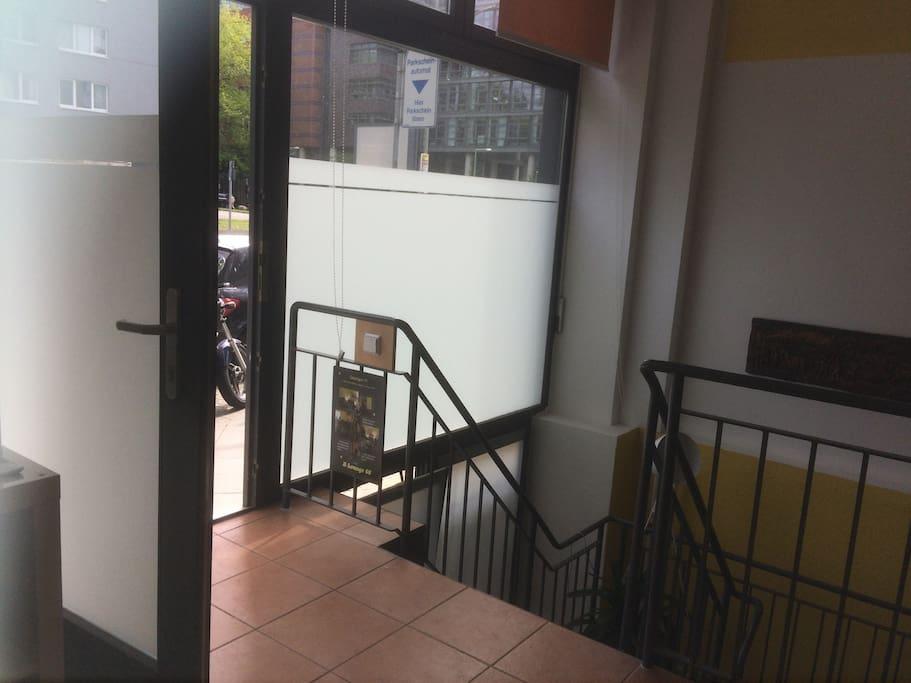 Eingang zum Apartment