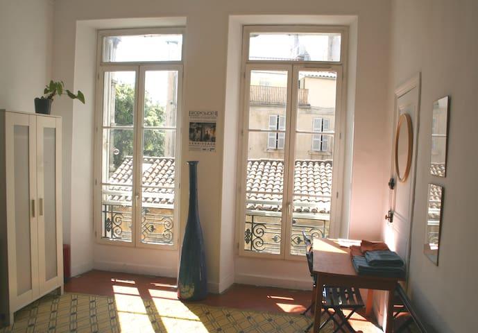 Artist's Apartement Bedroom