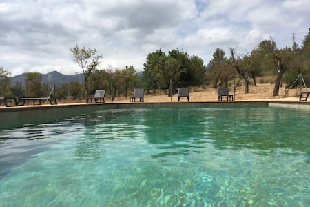 Pool, TV, Mountains view, - Consell