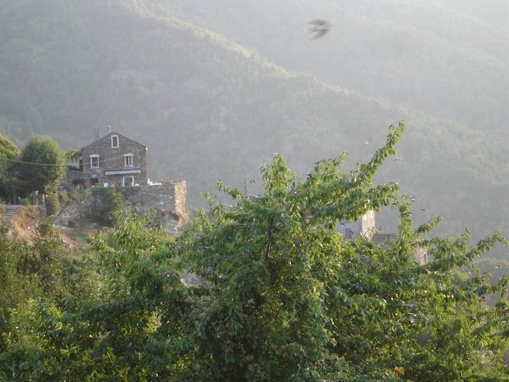 karakteristiek Corsicaans huis