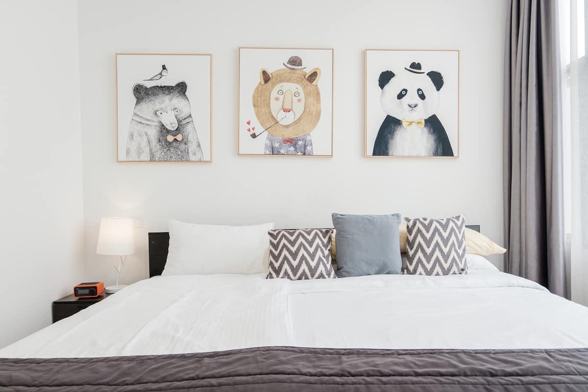 驻下民宿-毗邻迪士尼的小清新亲子大床房