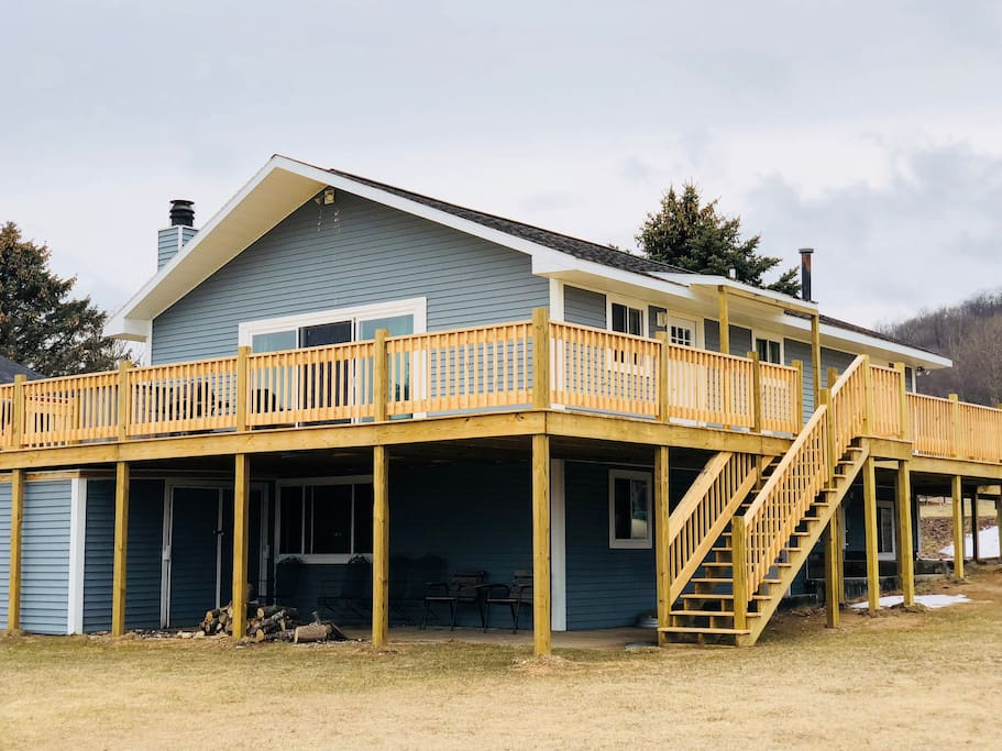 A real northern michigan retreat cabins for rent in for Northern michigan cabin rental