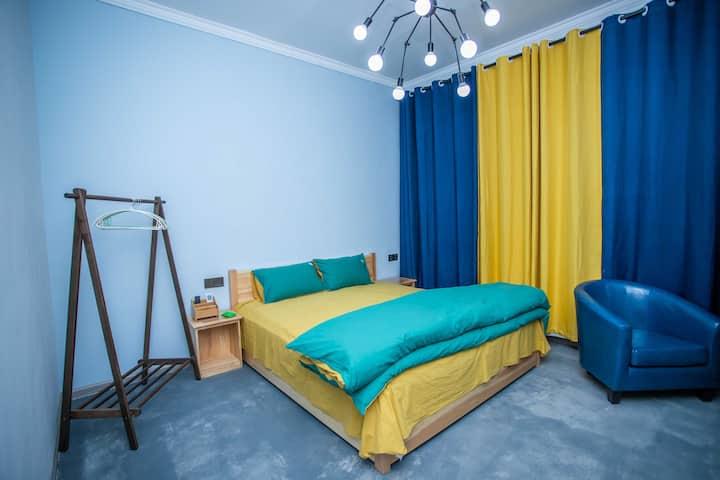 溪野民宿209温馨大床房