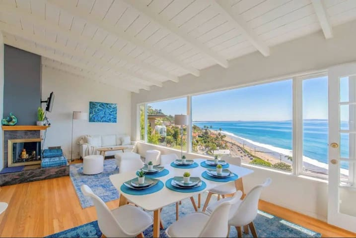 ● Panoramic ocean view, 5 BR, 6 min walk to beach
