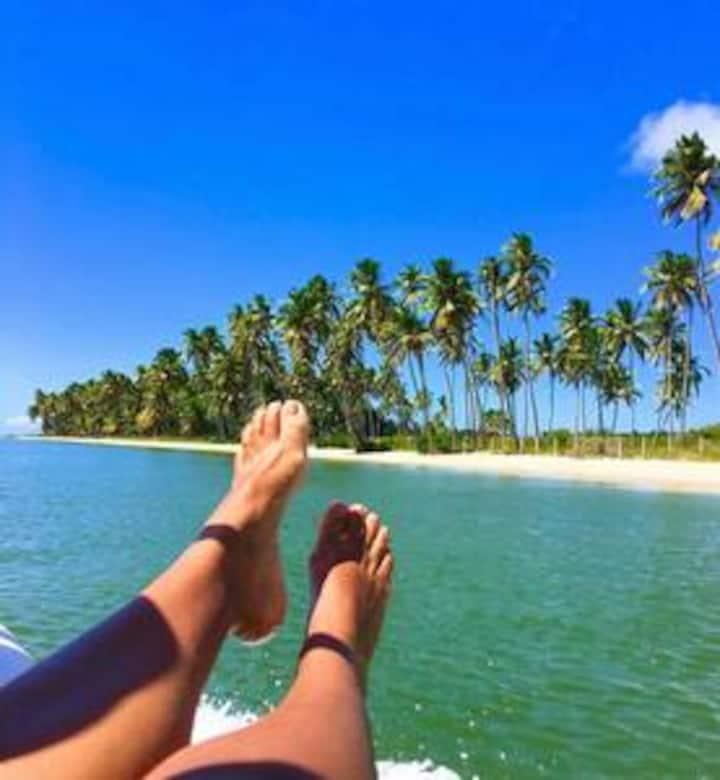 Férias no Caribe pernambucano