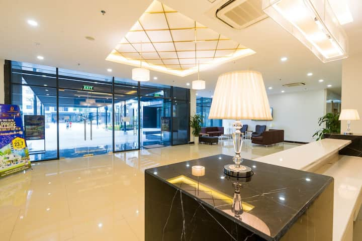 3Brs Luxury Apt 5*/Goldmark City/Korea Town