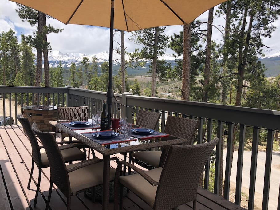 Sunny afternoons out on the deck, cool evenings around the fire pit, this is the place to be!