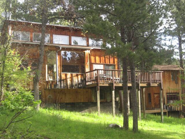 Forest Lodge & Bunkhouse - Spearfish - Casa