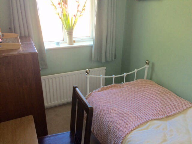 Single room plus breakfast in Oxford family home.
