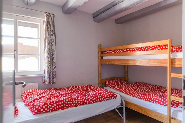 Les lits sont faits à votre arrivée