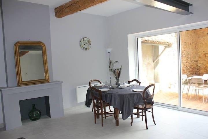 Gîte Chez Dame Paulette - Ferrals-les-Corbières - Şehir evi