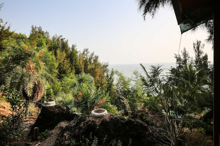 (SHANTIDHAM) SEA FACING CALM COTTAGES - Gokarna - Guesthouse