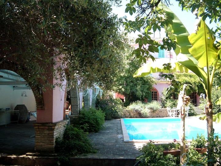 Villa Luisa il Paradiso tra mare e collina