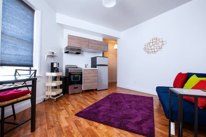 Modern Apartment by NYC (2Mins walk to PATH Train) - Jersey City - Appartement