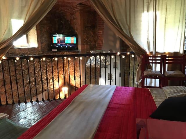 Habitación en casa de piedra - Guanajuato