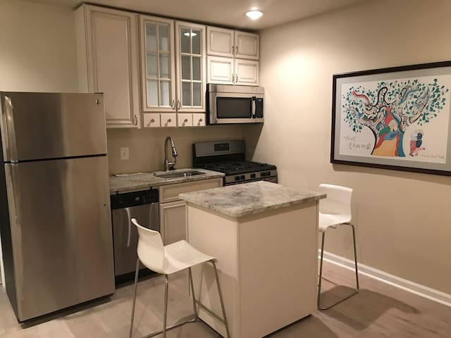 Light-filled 2Br/2Ba apartment near H St Corridor - Washington - Apartamento