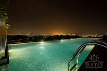 Second infinity pool