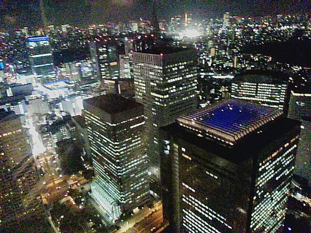 Shinjuku Night from Tokyo Metropolitan Government Building.