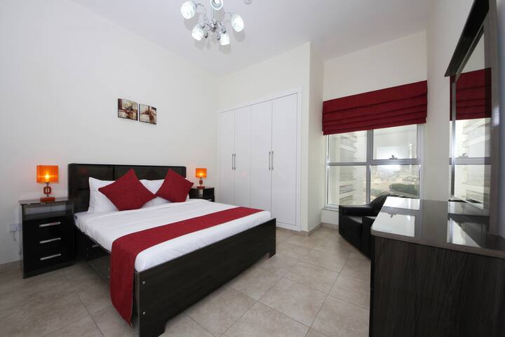 1 BR Tecom Area. - Dubai - Apartment