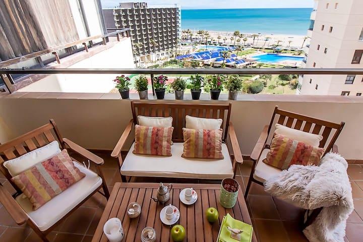 Apartamento primera línea de playa en Playamar