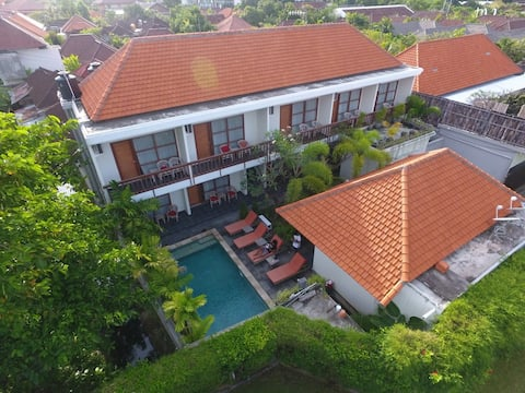 Abyan Guest House, Sanur, Beachside, Pool View