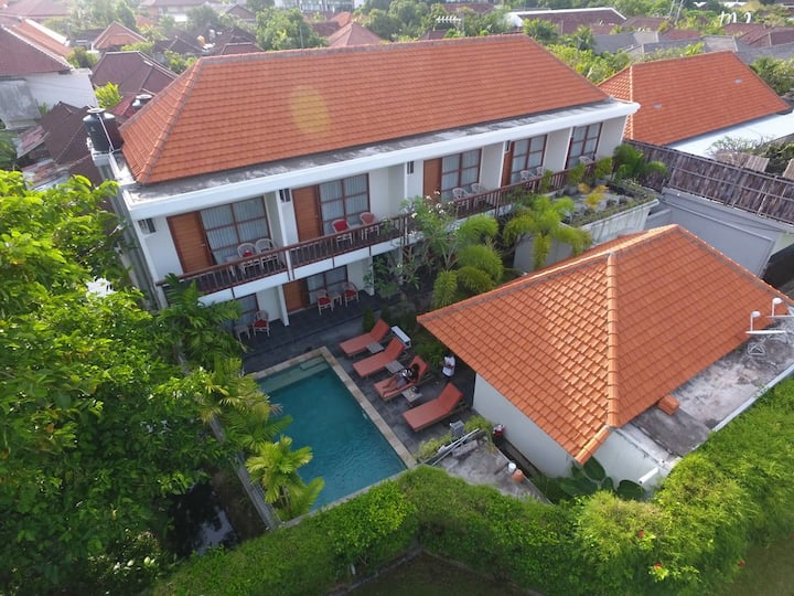 Abyan Guest House Sanur Pool View