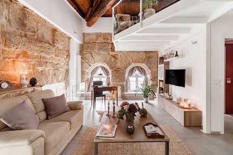 Sublime appartamento di charme in palazzo settecentesco con giardino privato