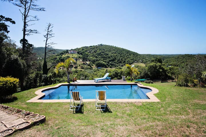 The POOL STUDIO with valley, SEA and POOL views!!!