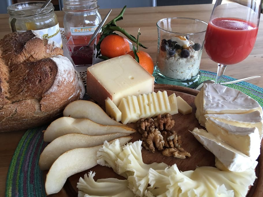 Included: A healthy traditional Swiss breakfast!